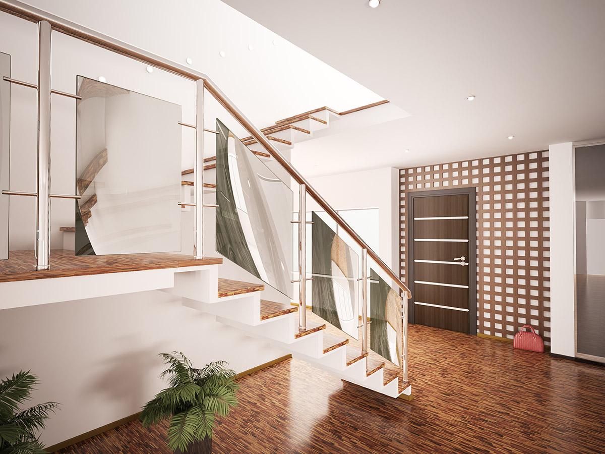 Wände, Böden und smarte Technik setzen besondere Akzente.