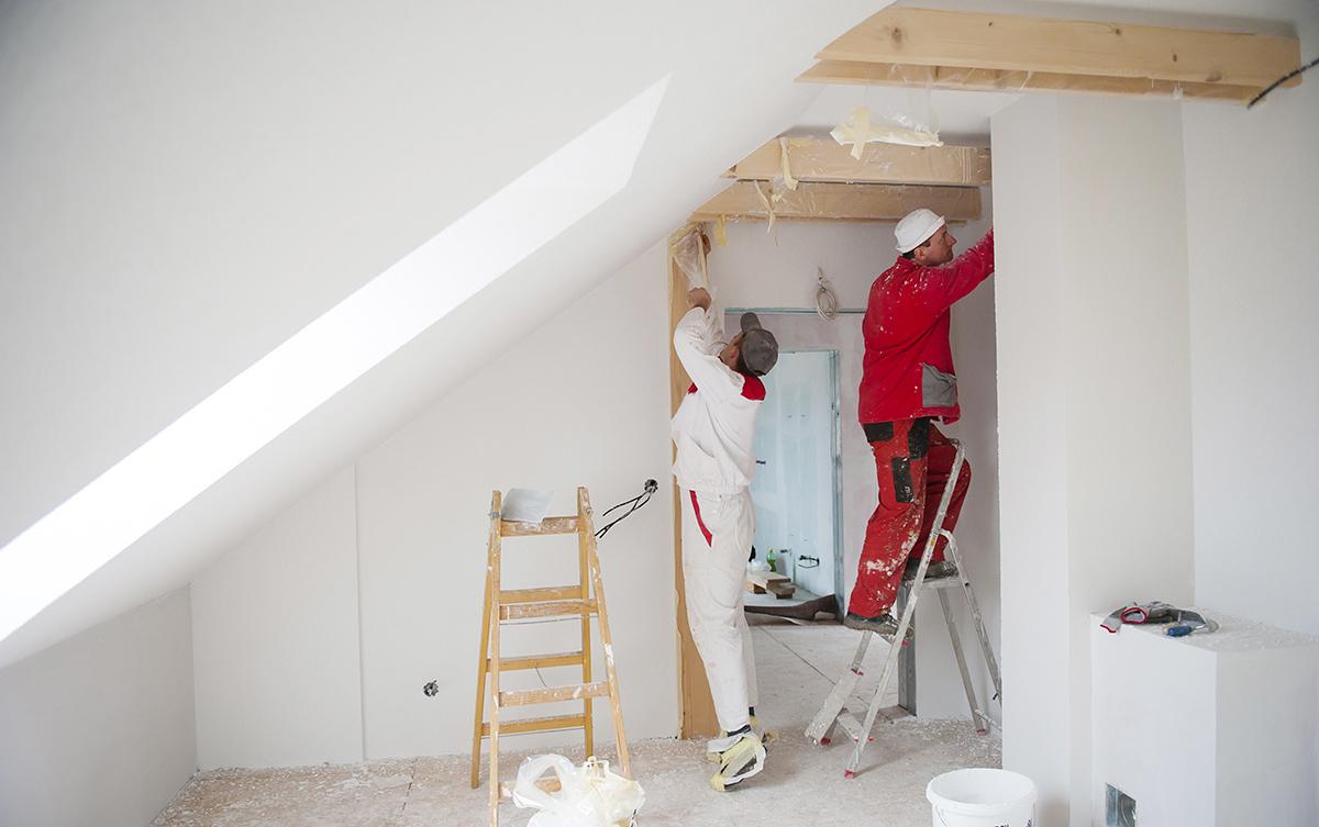 Mit der richtigen Renovierung wird das Haus zum perfekten Wohnort.