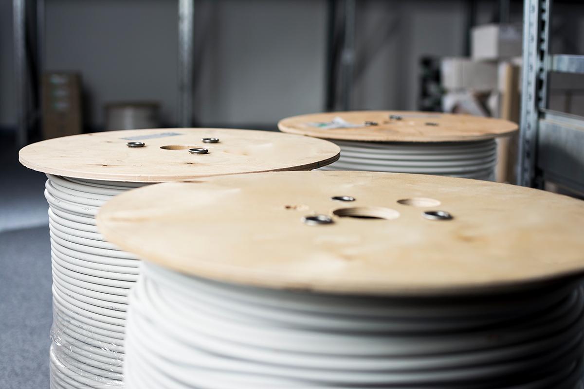 Kabel werden je nach Verwendungszweck ausgewählt.