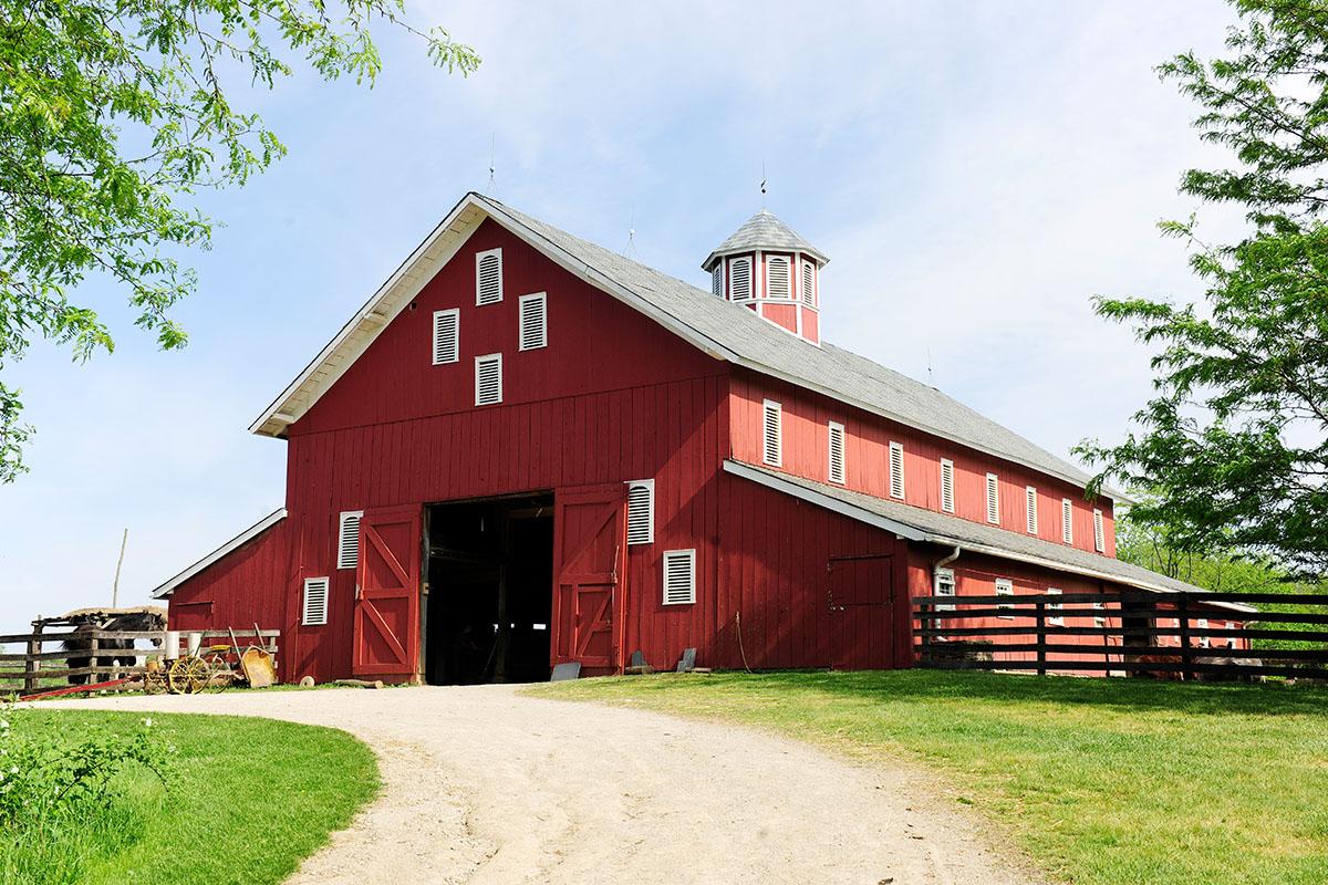 Einen Bauernhof zu kaufen, gehört zu den beliebtesten Wunschkäufen.