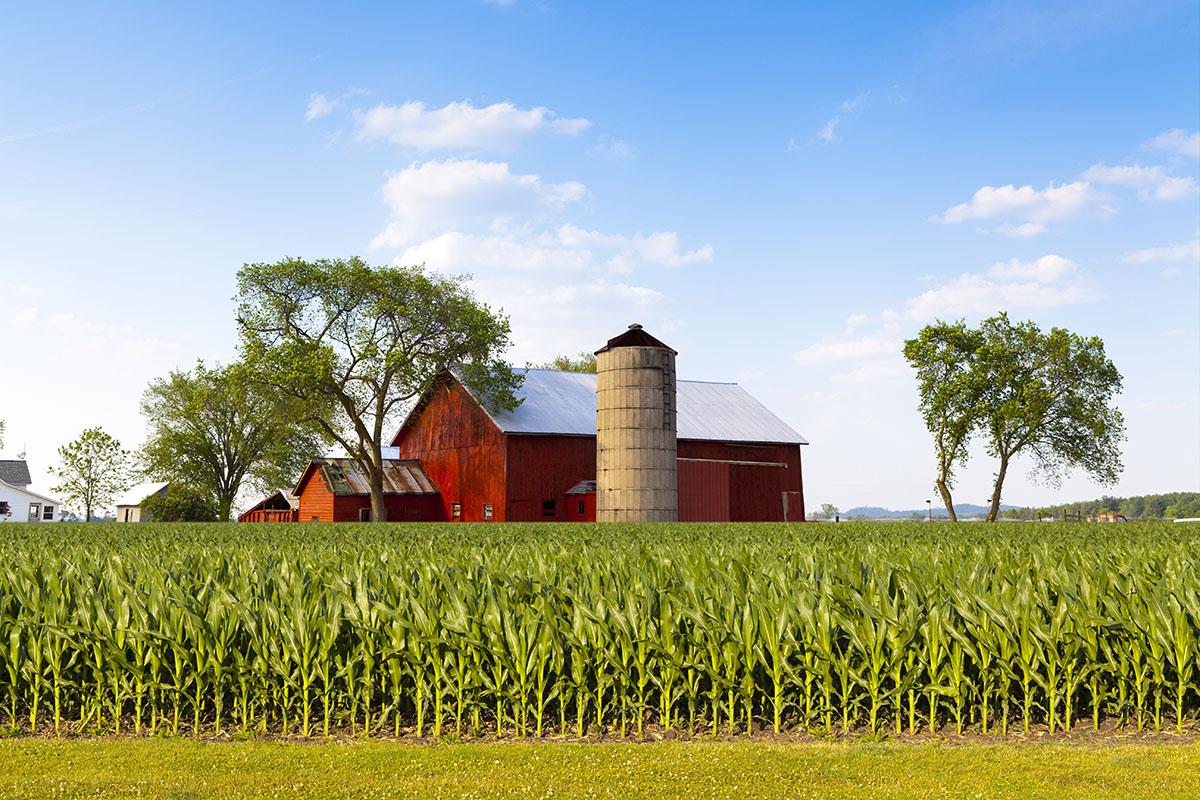 Die Lage des Bauernhofs ist ein wichtiges Entscheidungskriterium.