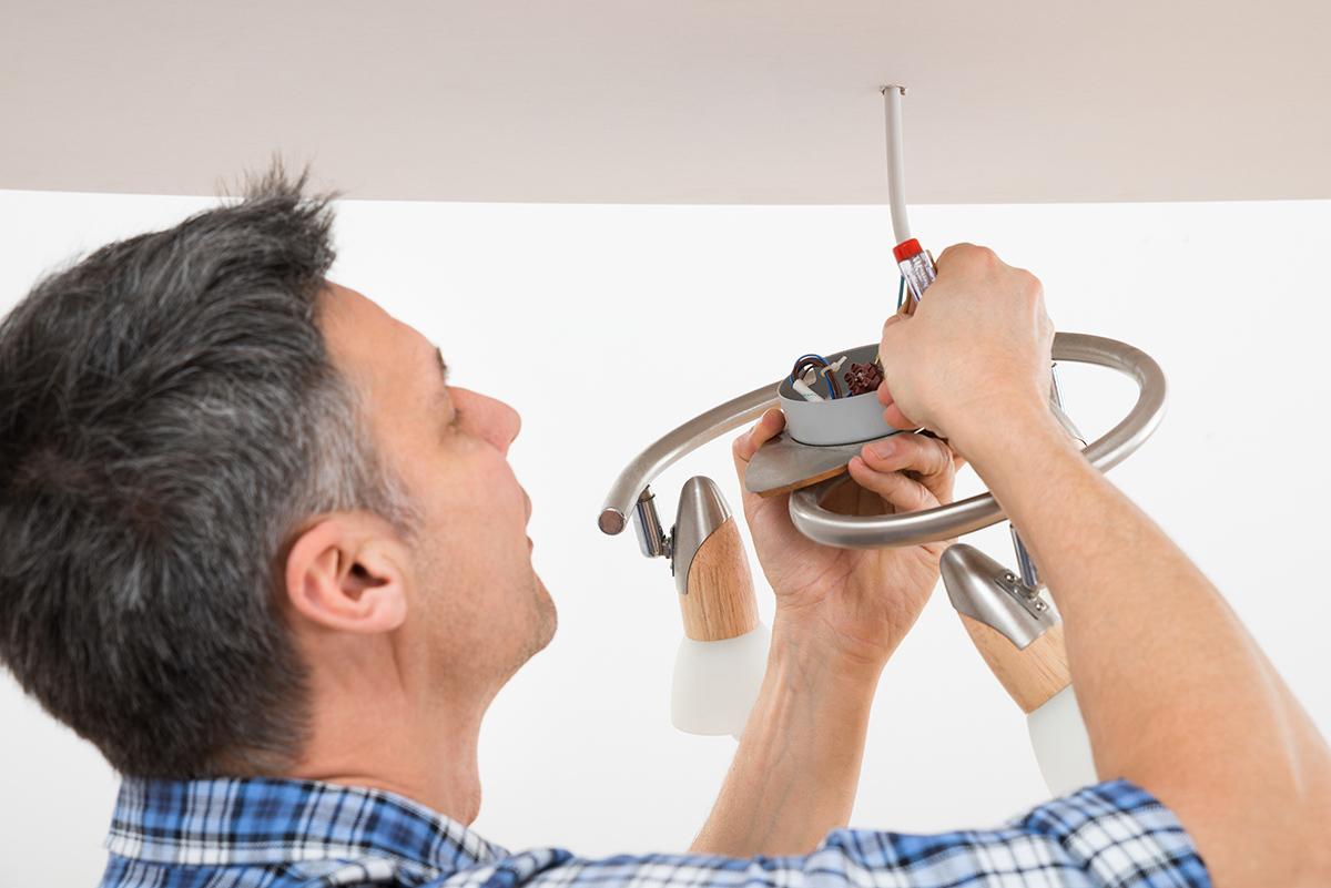 Lampen gehört mit zu den wichtigsten Aufgaben des Renovierens.