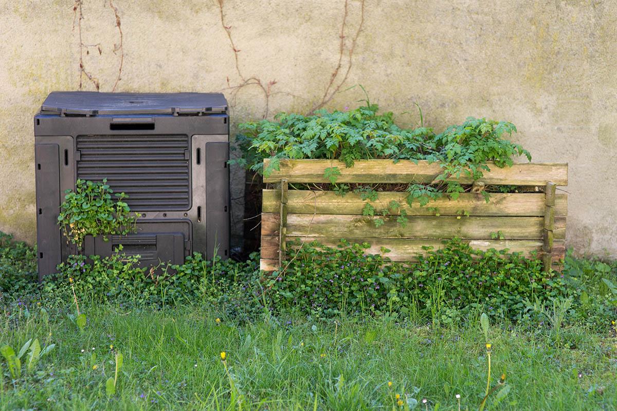 Vor allem im Sommer sollt man vermeiden, die Biotonne in die Sonne zu stellen.