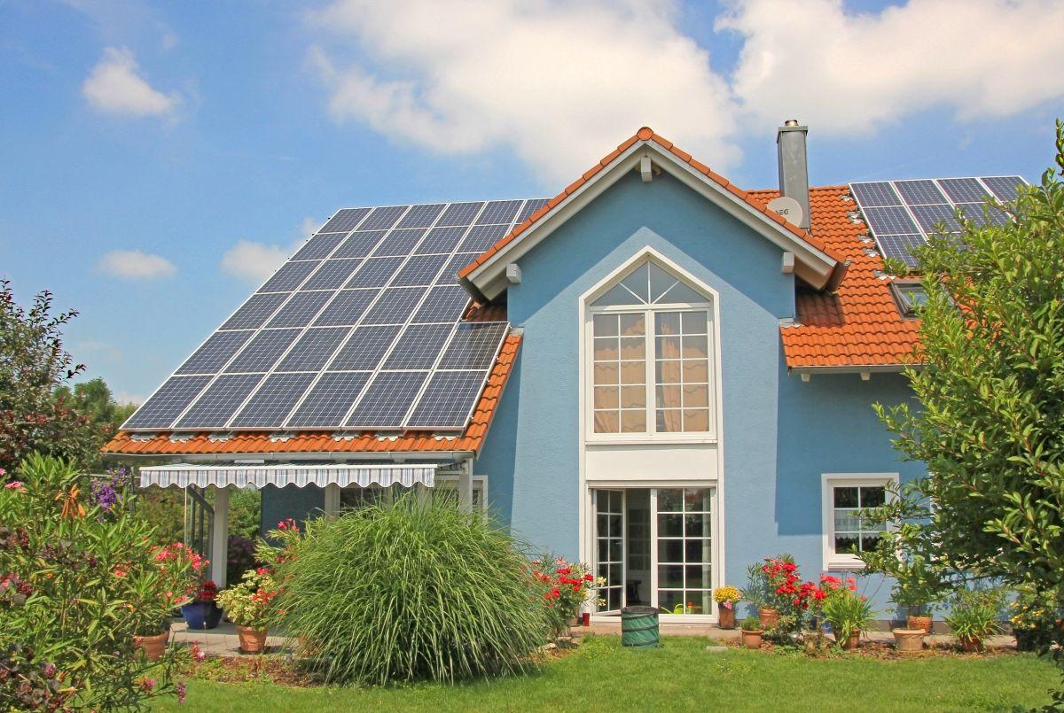 Solaranlage am Dach