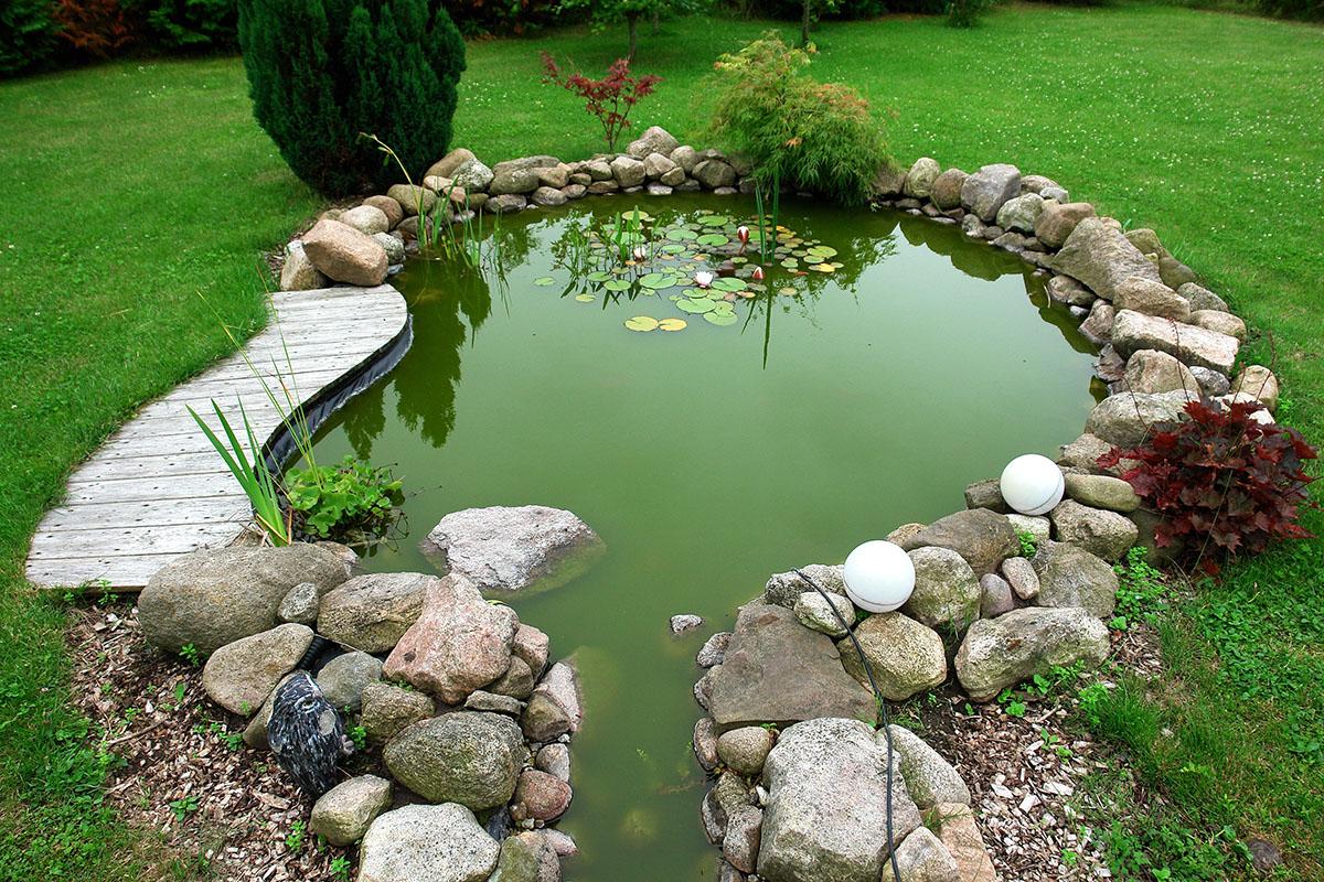 Biologische Prozesse im Wasser werden mit Filtersystemen unterstützt.