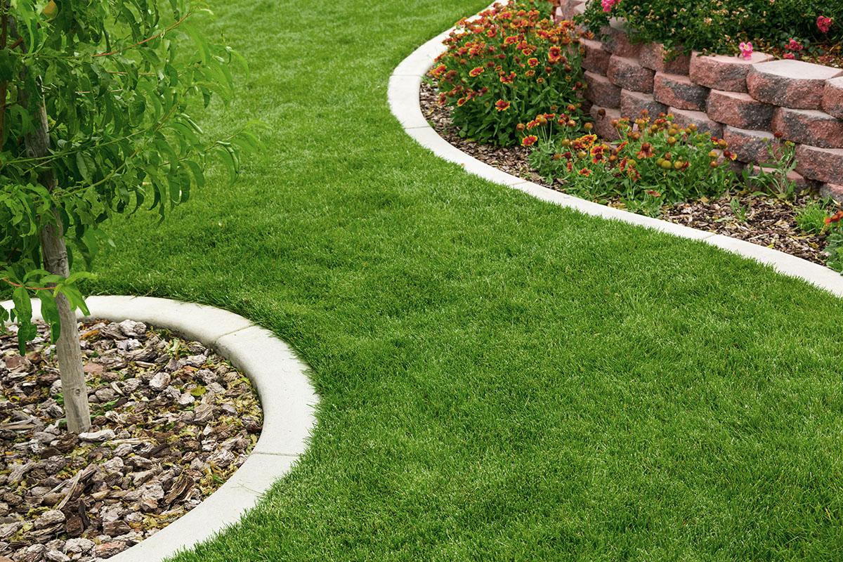 """Kleine Gärten wirken größer, wenn sie wie ein """"S"""" angelegt wurden."""