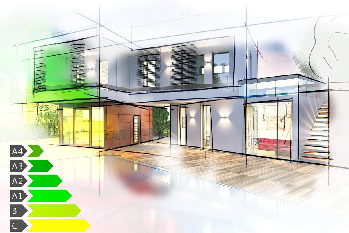 Energieeffizientes Bauen ist ökologisch und ökonomisch sinnvoll
