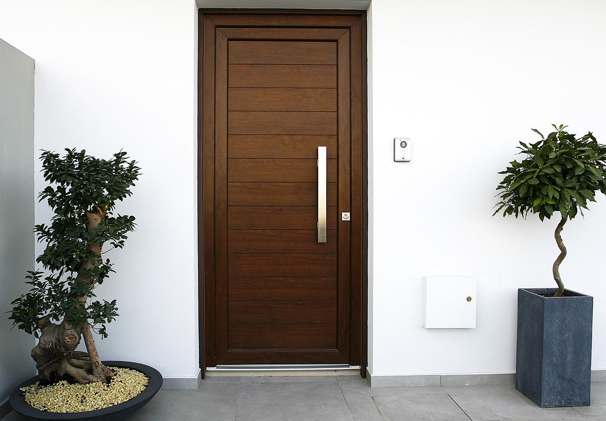Ist der Hauseingang behindertengerecht gestaltet, so ist dies für alle Besucher attraktiver.