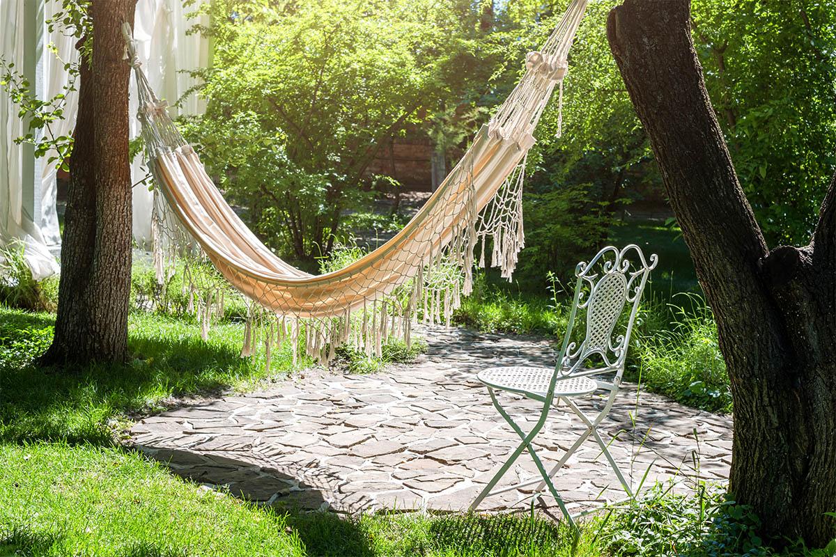 Geben Sie sich dem Lazy Gardening hin und genießen Sie den Garten.