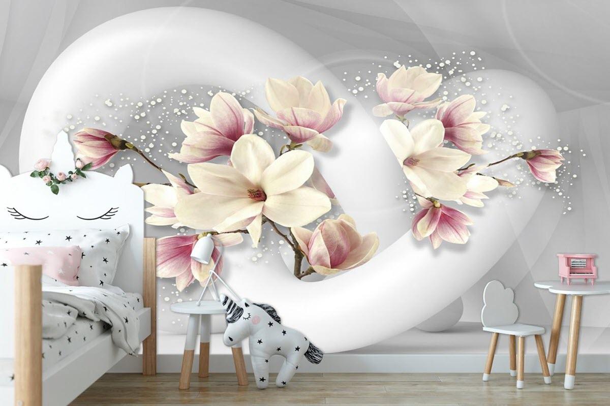 Fototapete mit Blumen