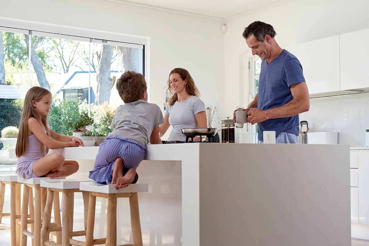 Mit einer eigenen Immobilie sind Sie unabhängig und abgesichert.