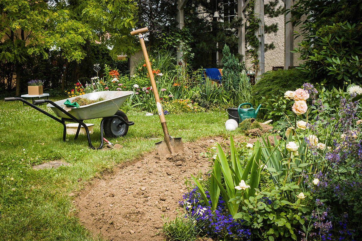 Ehe Sie den Garten planen, überdenken Sie bitte die spätere Nutzung.