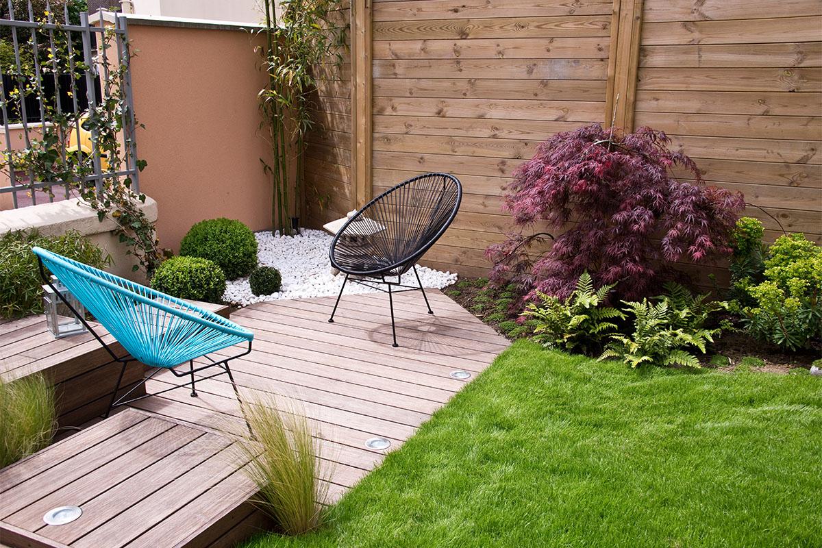 Wollen Sie eine Terrasse oder nur eine Sitzecke?