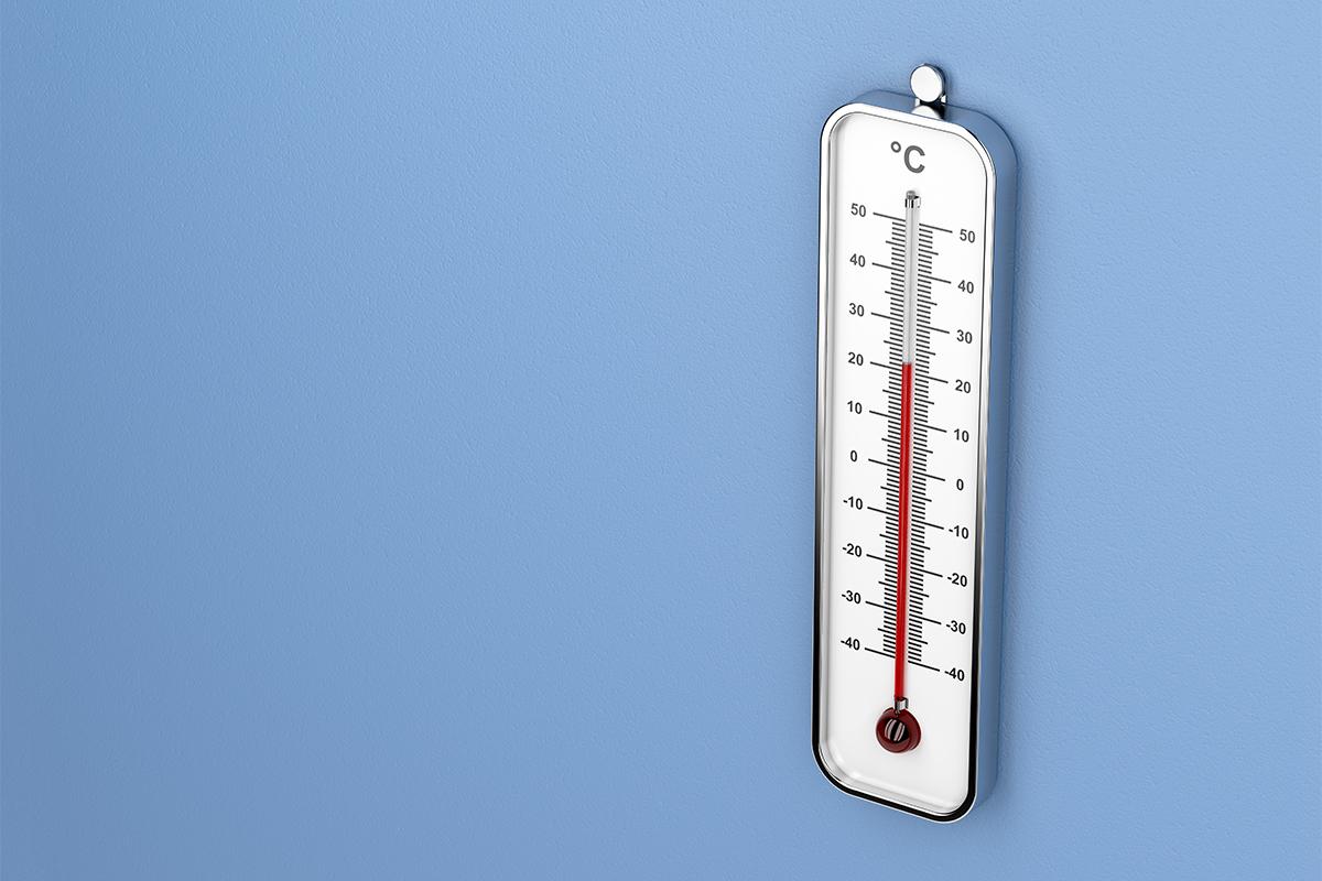 In Räumen, in denen eine hohe Luftfeuchtigkeit herrscht, muss mehr geheizt werden.
