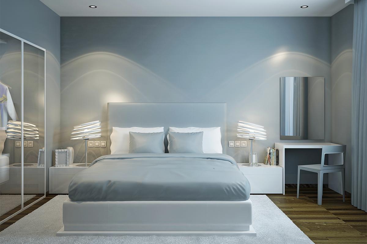 Farben beeinflussen den Schlaf auf unterschiedlichste Weise.