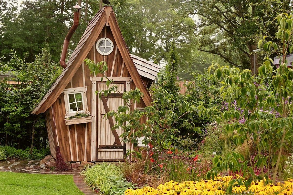 Gartenhaus aus Holz zum Wohlfühlen