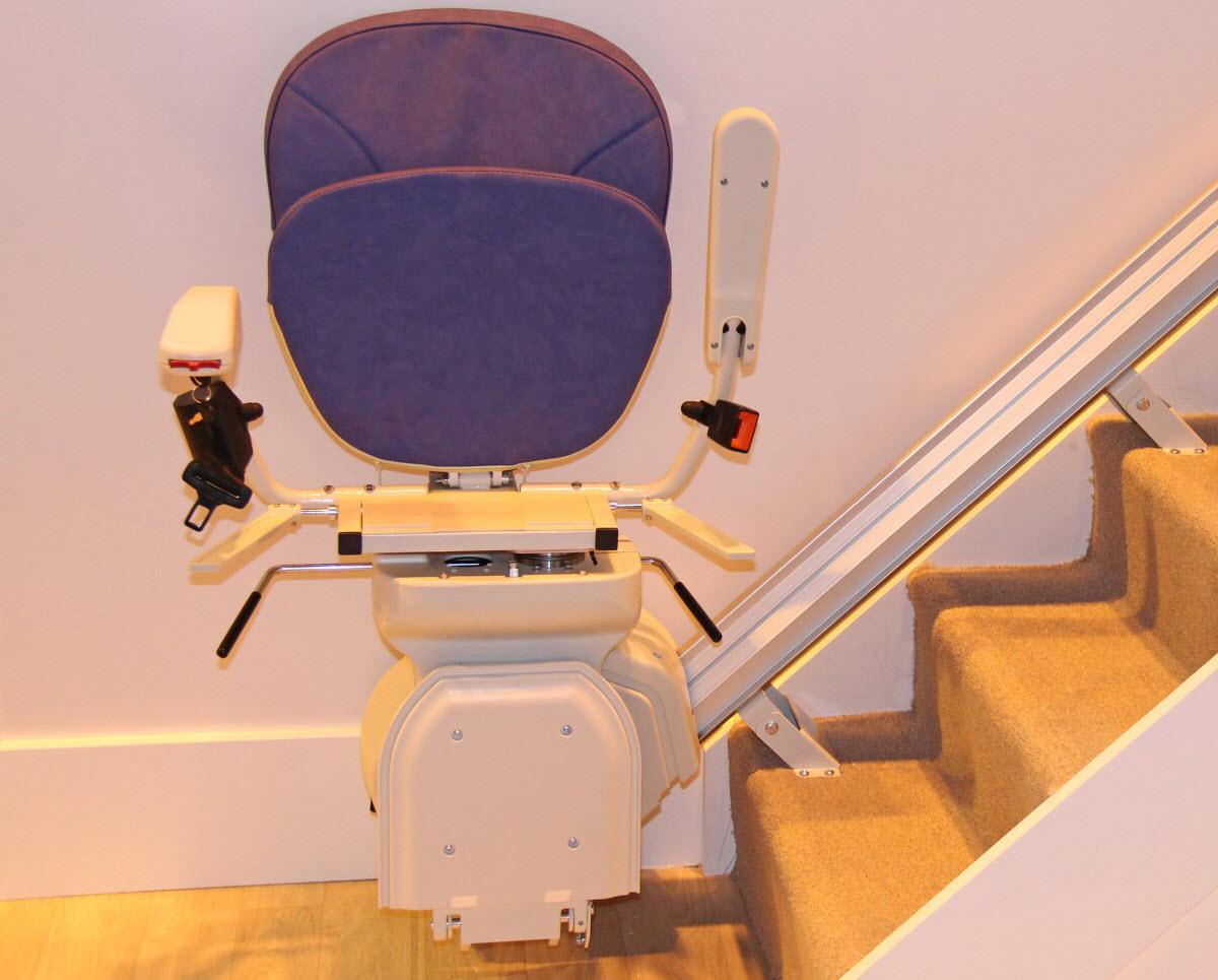 Treppenlift in Sitzlift-Ausführung