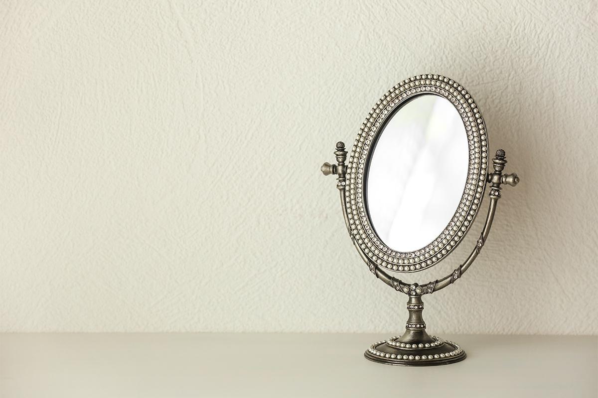 Der nutzen eines Dekospiegels hängt von dem Maß des Spiegels ab.