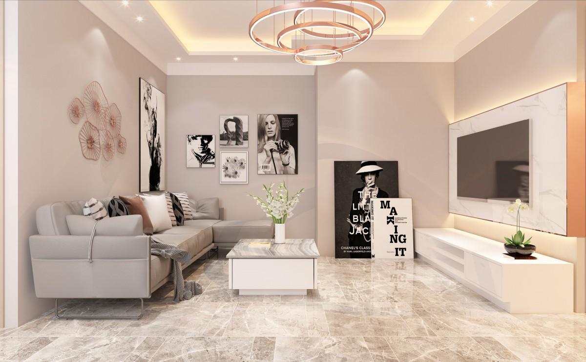 optimale Beleuchtung für das Wohnzimmer
