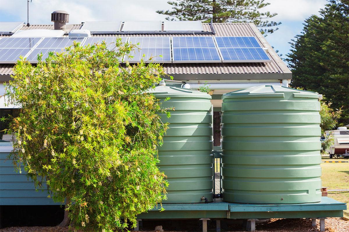 Die Nutzung von Regenwasser ist eine gute Möglichkeit, mit einfachen Mitteln die Natur zu unterstützen.